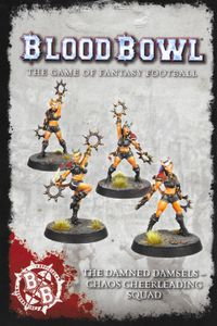 Blood Bowl (2016 edition): The Damned Damsels – Chaos Cheerleading Squad