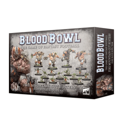 Blood Bowl (2016 edition): The Fire Mountain Gut Busters – Ogre Blood Bowl Team