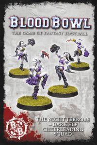 Blood Bowl (2016 edition): The Night Terrors – Dark Elf Cheerleading Squad