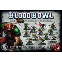 Blood Bowl (2016 edition): The Skavenblight Scramblers – Skaven Blood Bowl Team