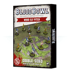 Blood Bowl (2016 edition): Wood Elf Pitch & Dugout Set
