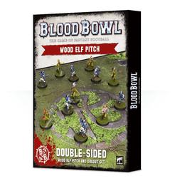 Blood Bowl (2016 edition): Wood Elf Pitch & Dugout Set