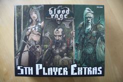 Blood Rage: 5th Player Extras – Kickstarter Exclusives