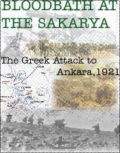Bloodbath at the Sakarya, August, 1921