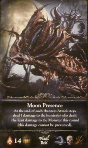 Bloodborne: The Card Game – Moon Presence