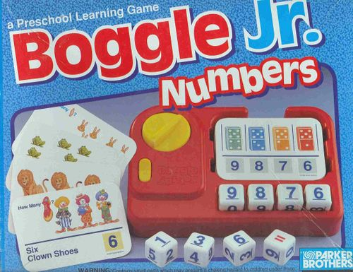 Boggle Jr. Numbers
