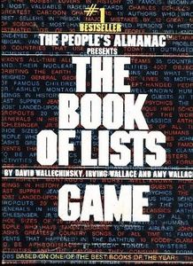 Book of Lists Game