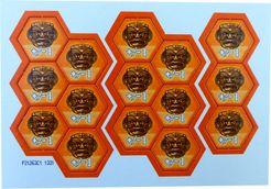 Bora Bora: Orange God Tiles