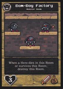Boss Monster: Bom-Boy Factory Promo Card