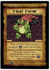 Boss Monster:  Final Form! Promo Card