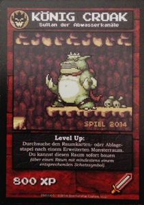 Boss Monster: König Croak Promo Card