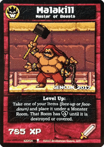 Boss Monster: Malakill Promo Card