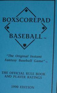 Boxscorepad Baseball