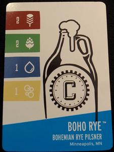 Brewin' USA: Boho Rye Promo Card