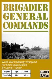 Brigadier General Commands