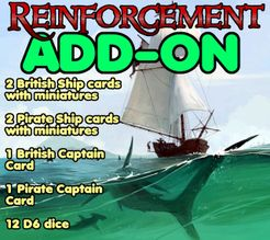 British Vs Pirates: Reinforcements Add-on