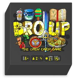 Bro Up: The Open Card Game