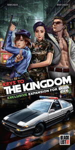 Project X Street Masters Rise of the Kingdom Kickstarter Exclusive New