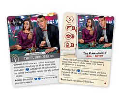 Brook City: The Funkhousers Promo Card