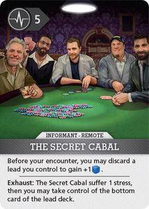 Brook City: The Secret Cabal Promo Card