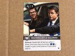 Brook City: Waybright & Salinas Promo Card