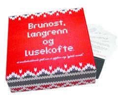 Brunost, Langrenn og Lusekofte