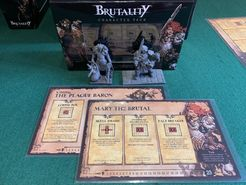 Brutality Character pack: Crowley, the Plague Baron & Mary the Brutal