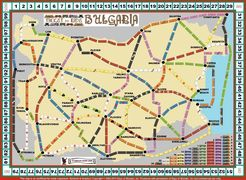 Bulgaria (fan expansion of Ticket to Ride)