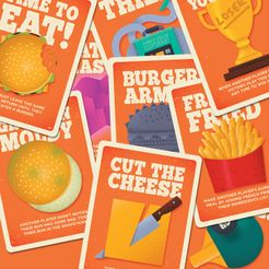 Burger Battle: Battle Card Expansion Pack