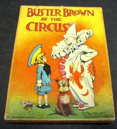 Buster Brown at the Circus