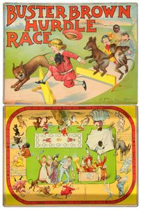 Buster Brown Hurdle Race Game