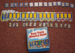 Busy Train Memory Game