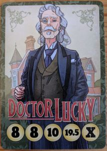 Button Men: Beat People Up – Doctor Lucky Promo Card