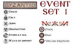 Byzantio / Nekken: Event Set I