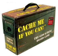 Cache Me If You Can!: The Geocaching Board Game