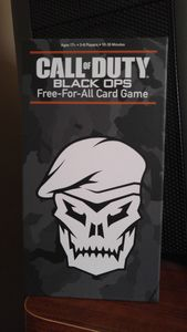 Call of Duty: Black Ops – Free-For-All Card Game