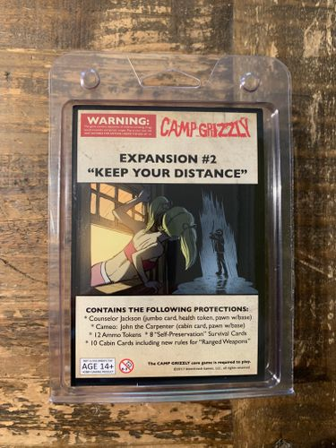 Camp Grizzly: Expansion #2 – Keep Your Distance