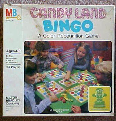 Candyland Bingo