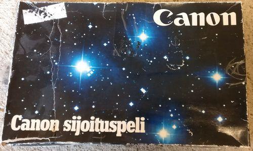 Canon sijoituspeli