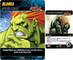 CapCom Street Fighter Deck-Building Game: Blanka Promo