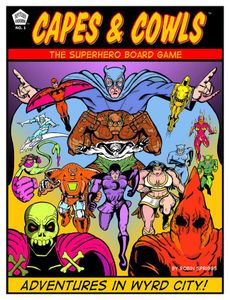 Capes & Cowls: The Superhero Board Game