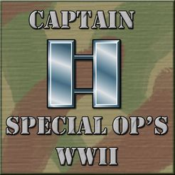 Captain Special Ops WWII