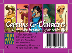 Captains of the Golden Age: Captains and Characters