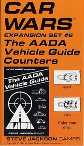 Car Wars Expansion Set #6, The AADA Vehicle Guide Counters