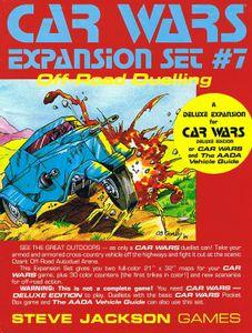 Car Wars Expansion Set #7, Off-Road Duelling