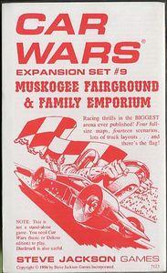 Car Wars Expansion Set #9, Muskogee Fairground & Family Emporium