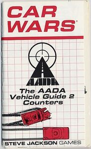 Car Wars Expansion Set, The AADA Vehicle Guide 2 Counters