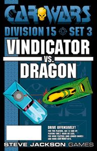 Car Wars Fifth Edition Starter Set, Division 15 - Set 3