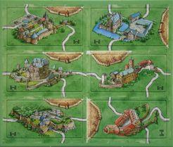 Carcasonne: Castles in Germany