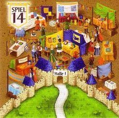 Carcassonne: Bonusplättchen Spiel 2014